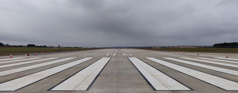 RAF Marham, New Runway & Hangar